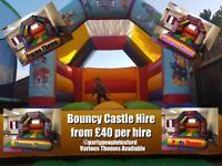 bouncy castle hire tuxford notts