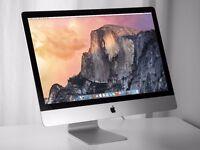 """27"""" iMac (Late 2012)3.2ghz i5, 8gb ram, 1tb HDD (7200)"""