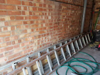 4M Double extending Aluminium Ladders