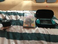 Good condition psp with game and charger