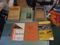 7 VINTAGE MODEL RAILWAY BOOKS