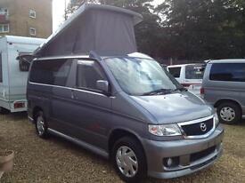 Mazda Bongo Mistral 6seater 4 berth Camper (metallic grey) 2006