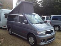 Mazda Bongo Mistral 6seater 4 berth Camper (metallic grey) 2006