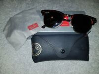 03120181ce Genuine Ray Ban Clubmaster Sunglasses - Brand New In Original Packaging