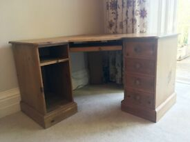 Beautiful Solid Pine, Corner Desk