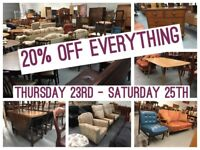 ** SECOND HAND FURNITURE FOR SALE - chairs, sofas. drawers, tables etc **