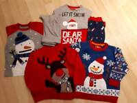 Boy's 18-24mth small Christmas bundle of clothes