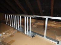 Maplin 3-Section 12-Rung 3m Aluminium Loft Ladder