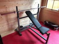 Body-Solid Power Centre Combo Bench (Bench Press, Squat, Lat Pulldown)