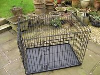 DOG CAGE / CRATE / LARGE