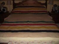 Vintage Witney 4 Point Wool Blanket