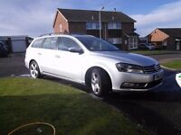 2011 VW Passat estate 2.0tdi bluemotion