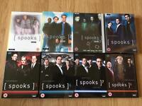 Spooks DVD box sets series 1 - 8