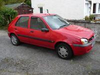 2001 Ford Fiesta LX Zetec - MOT'd - Needs wheel bearing & exhaust bracket