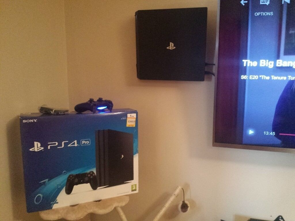 Playstation 4 Pro 1tb Black With Account Games In West End