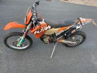 KTM, EXC-F, 2008, 248 (cc)