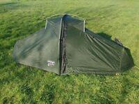Vango ultralight 100. 1 person tent. 1050g