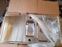 Kitchen Stainless Steel 1.5 Sink