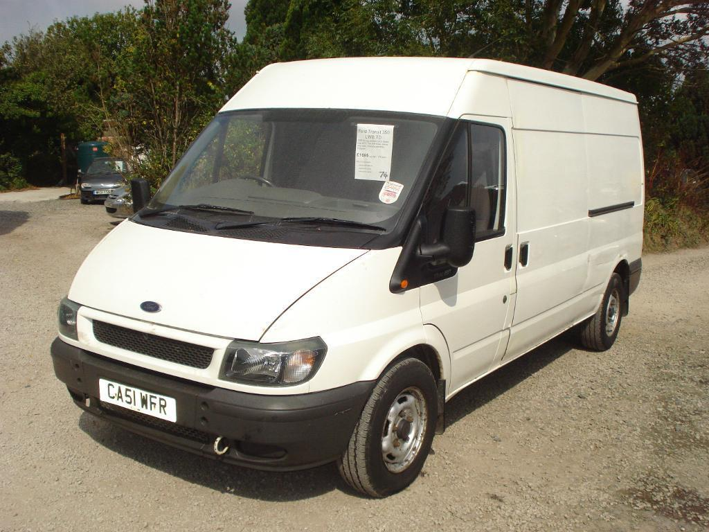 ford transit 350 lwb td 2002 51 reg 2400cc turbo diesel. Black Bedroom Furniture Sets. Home Design Ideas