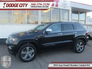 2016 Jeep Grand Cherokee Limited   4x4 - Uconnect, Heated Seats,