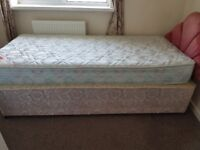 Single beds (3) with headboard selling individually