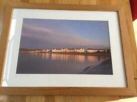 'Morton Crescent, Exmouth.' Framed photo.
