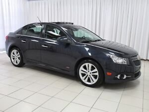 2014 Chevrolet Cruze RS LT TURBO SEDAN WITH SUNROOF, CRUISE CONT