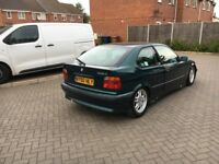For sale BMW E36 Compact with 6pot M52B25 engine swap