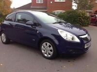 Vauxhall Corsa 1.2 petrol 2010 New mot, starts and drive, Eletric windows,Air condition.CHEAP!!!