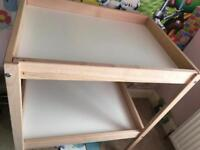 *REDUCED *Ikea baby change table