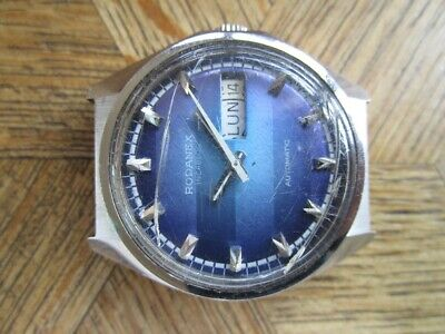 Vintage St. Steel RODANEX Automatic Cal. FE 4612. For parts.