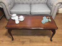 VINTAGE QUEENS ANNE COFFEE TABLE FREE DELIVERY 🇬🇧