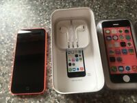 I phone 5c , 32gb , pink , excellent condition , ee network