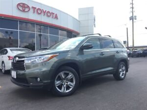 2015 Toyota Highlander LIMITED AWD, PANOROOF, LEATHER, BLIND SPO