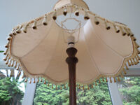 Gold Colour Large quality shade for a standard lamp