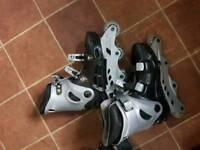 Skate shoe roller