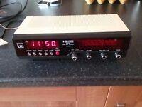 Vintage Binatone Royal Digital Clock Radio - 1970's