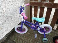 girls bike frozen