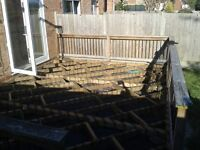 Old Decking Materials