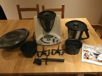 Thermomix TM31 with 2 mixing bowls - amazing cooking machine