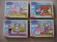 Peppa Pig 35 Piece Jigsaw Puzzles