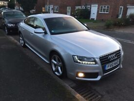AUDI A5 Sportback S-Line 2.7 Diesel 8 Speed Auto - FSH - Very High Specifications