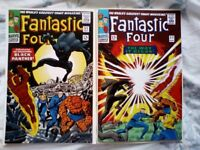 Fantastic Four 52 reprint and 53 reprint. 1st app of Black Panther