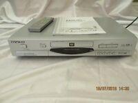 Reoc A5 DVD/CD/MP3 Player, Remote Control – Silver