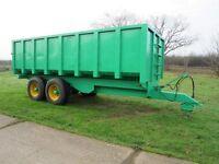 14 ton corn trailer warwick