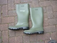 Wellington boots, green, 2 sizes available, EU 41 and 42 - FREE