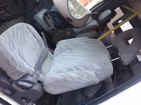 Seats from a Mitsubishi Delica (Offers Considered!)