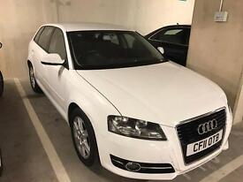 Private Car Sale - White Audi A3 - 2011 - 5 Door