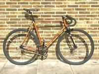 Aphelion 1962 single speed/fixed gear bicycle! Copper Pearl 56cm large