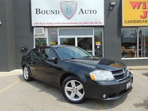 2010 Dodge Avenger R/T-LEATHER,SUNROOF,ALLOYS,ACCIDENT FREE